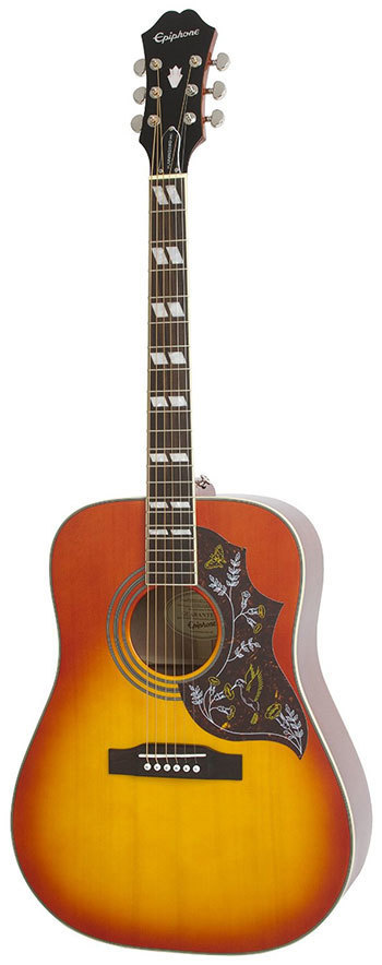 The best acoustic guitars for beginners under Epiphone Hummingbird Pro