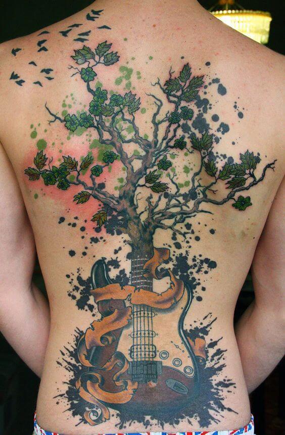 awesome-guitar-tattoo