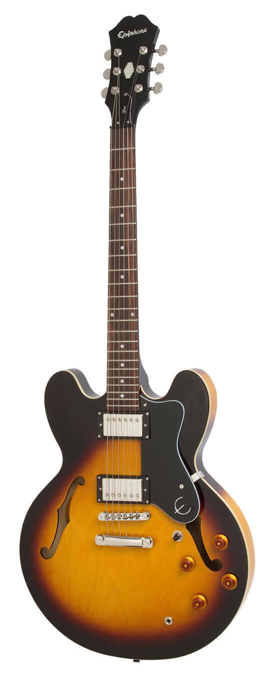 Epiphone Dot electric guitar sunburst