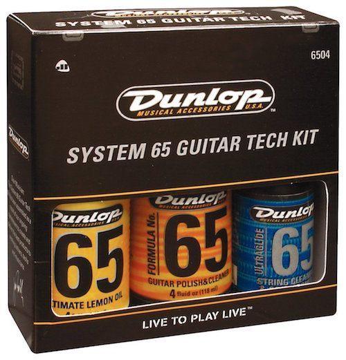 Jim Dunlop Guitar Cleaner Care Kit Make Guitar Strings Last