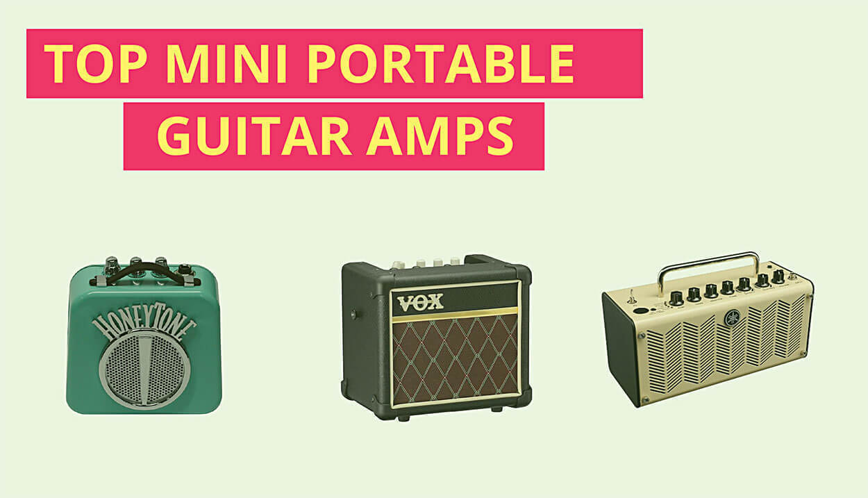 The 13 Best Mini Portable Guitar Amps (That'll Shock You!)