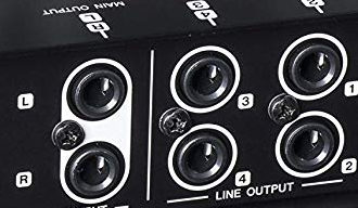 Line Jack Input and output for Audio Interface