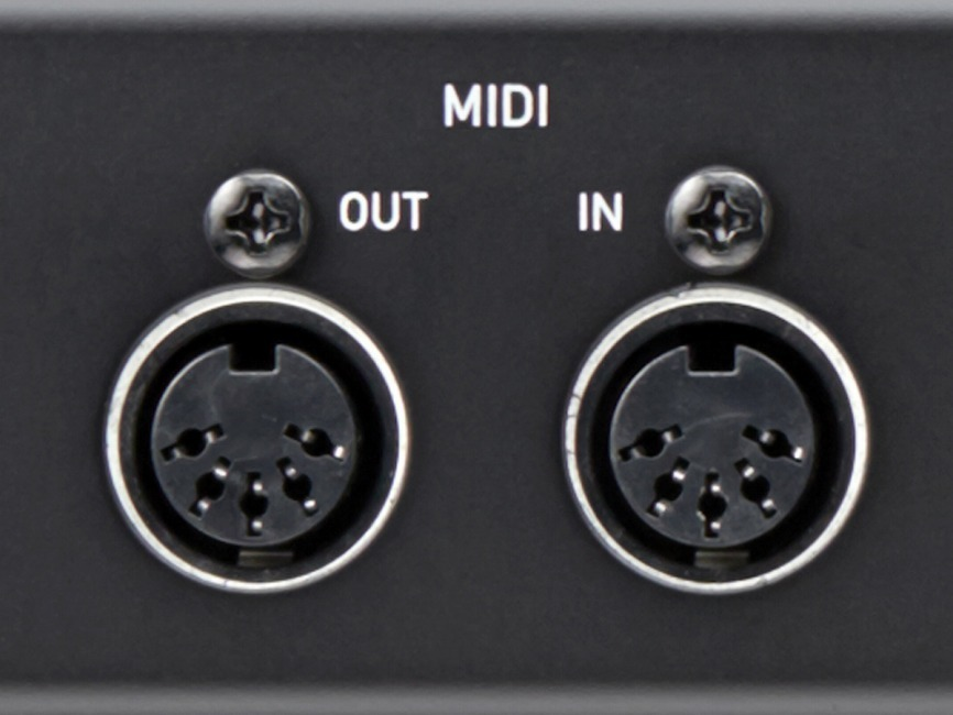 MIDI Input and output for Audio Interface