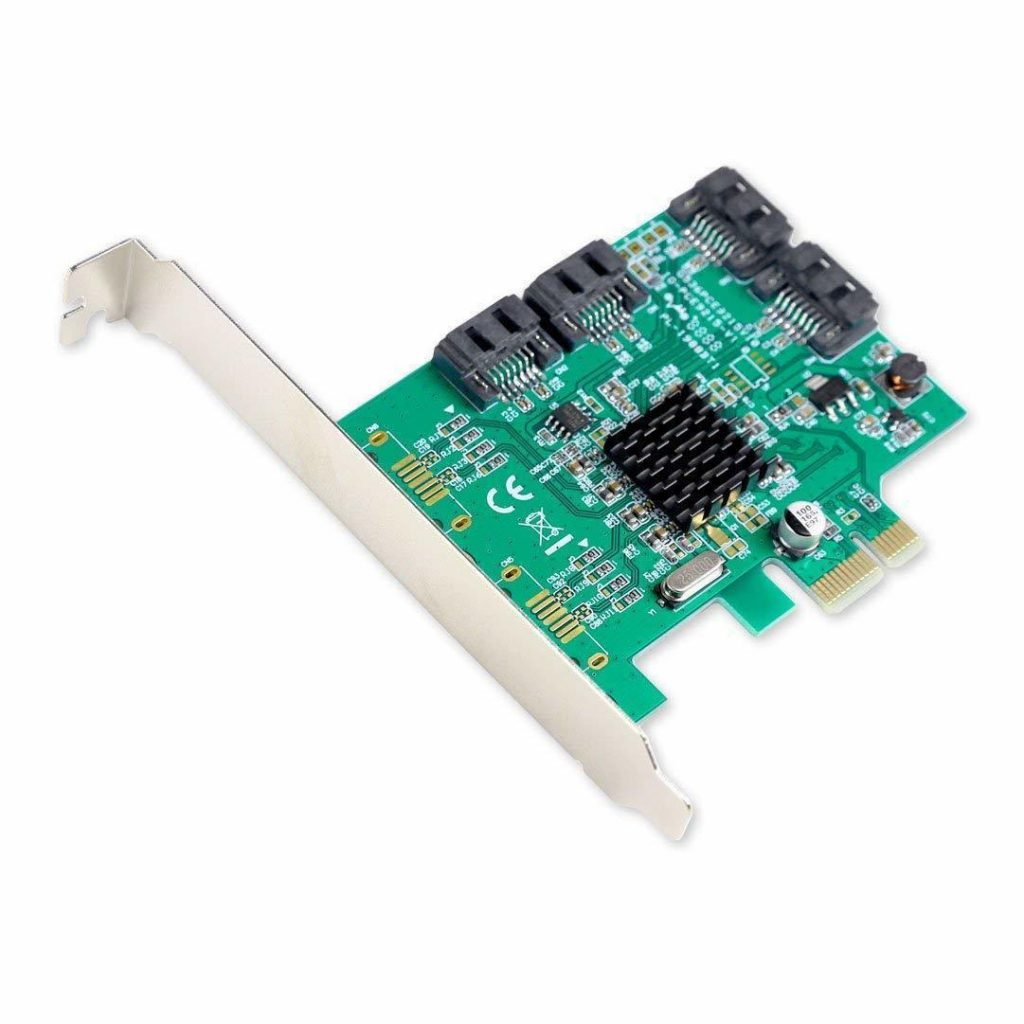 PCI-e Controller Card for Audio Interface Connections