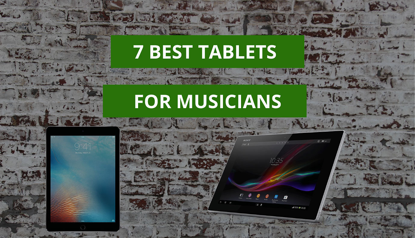 Best Tablets For Musicians Gigging Sheet Music