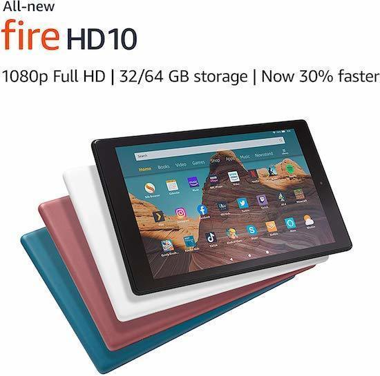 Best Tablet For Musicians Gigging Sheet Music_Fire HD 10.1 Tablet