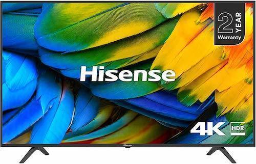 Black Friday TV Deals Hisense H43B7100UK 43-Inch TV 4K UHD