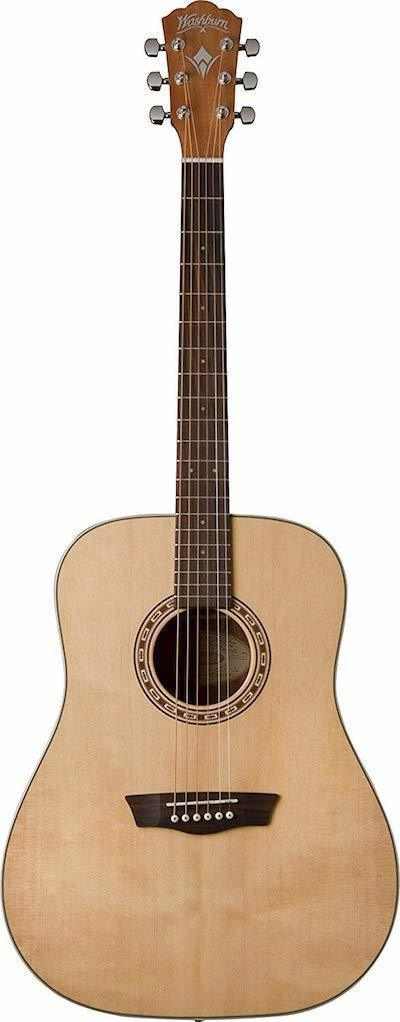 Washburn WD7S Acoustic Guitar For Beginners