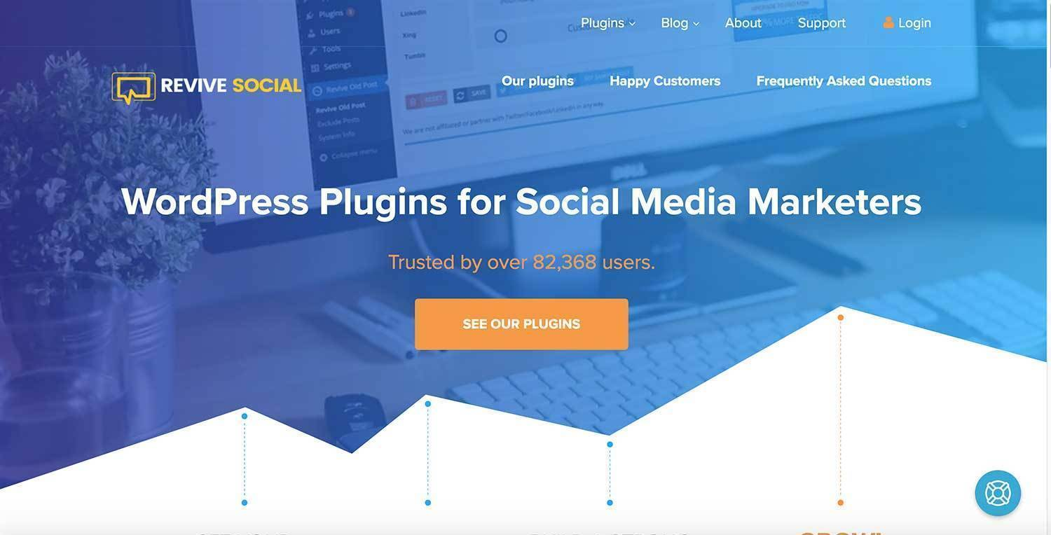 Best-Website-Building-Tool-and-Plugin-Revive-Social