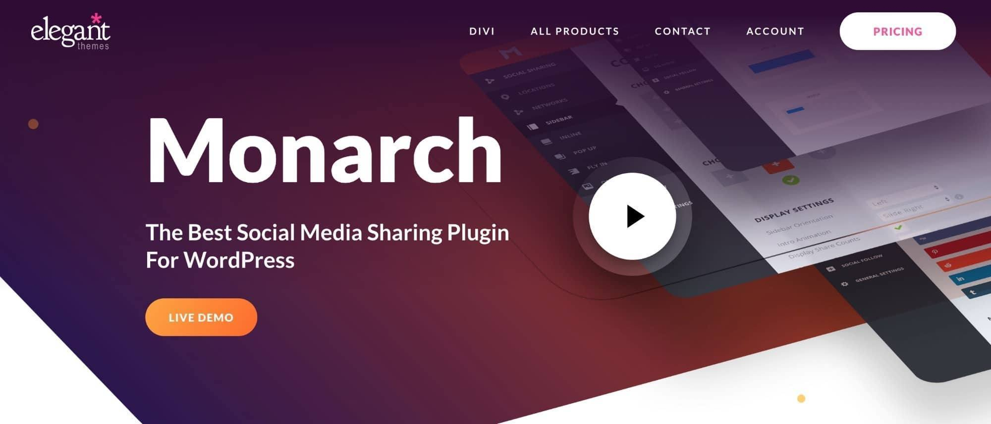 Best-Website-Plugins-Selling-Music-Monarch-Social-Sharing-Plgin