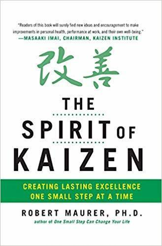 best books for guitar players musicians to inspire The Spirit of Kaizen- Creating Lasting Excellence One Small Step at a Time