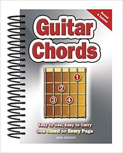 Guitar Chords- Easy-to-Use, Easy-to-Carry, must read guitar books One Chord on Every Page