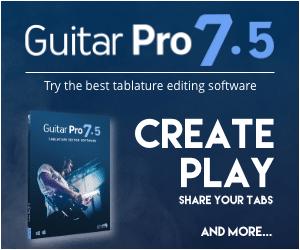 Guitar pro 7.5 guitar tablature editing software best guitar lessons
