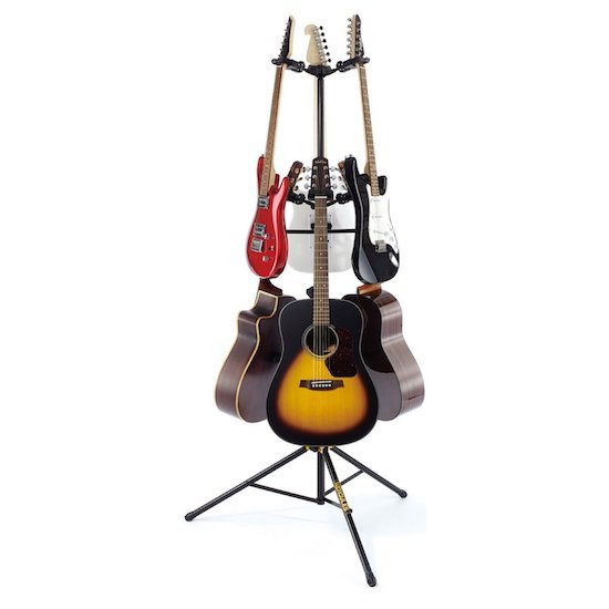 Hercules GS526B Guitar Stand for 6 Guitars multiple stand electric acoustic