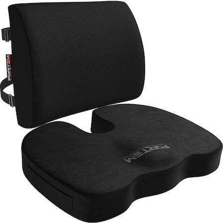 Seat Cushion & Lumbar Support For Office Chair correct guitar playing posture
