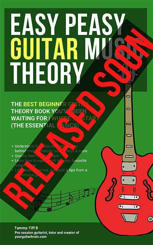 Best beginner guitar theory music book easy peasy guitar music theory