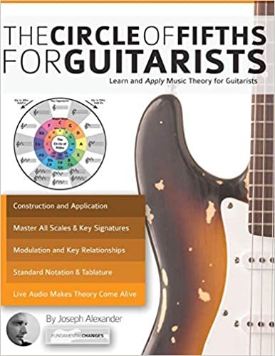 best guitar books music theory The Circle of Fifths for Guitarists beginner intermediate guitar lesson