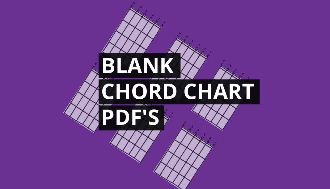 Blank Guitar Chord Charts Free Pdf Diagrams
