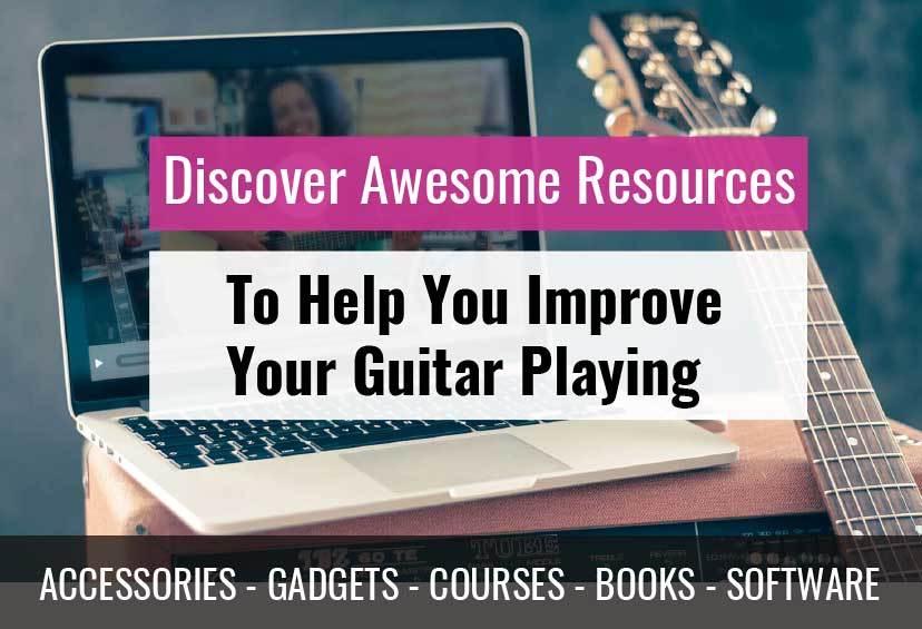 Best guitar accessories courses must read guitar books beginners