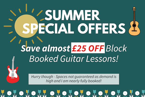 Guitar Lesson Special Offer Discount Learn To Play Guitar Online