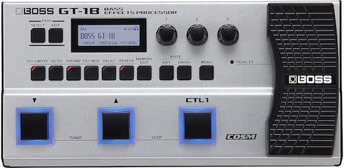Best Bass Multi Effects Pedals_Boss GT-1B Bass Effects Processor