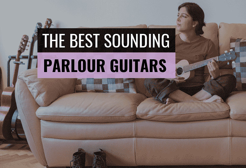 best parlour guitar for travel small hands beginners to buy