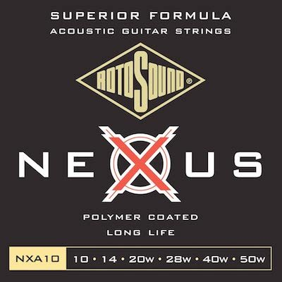 Best acoustic guitar strings rotosound nxa acoustic guitar strings