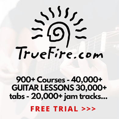 Truefire best online guitar lessons discount free lessons for beginners