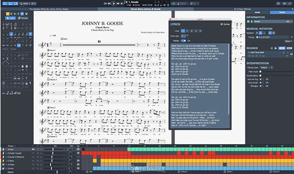 best tablature making software Guitar Pro 7.5 Free guitar tabs