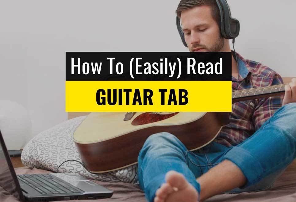how to read guitar tablature tabs explained for beginners