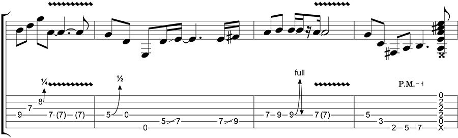 tablature with standard notation how to read tabs