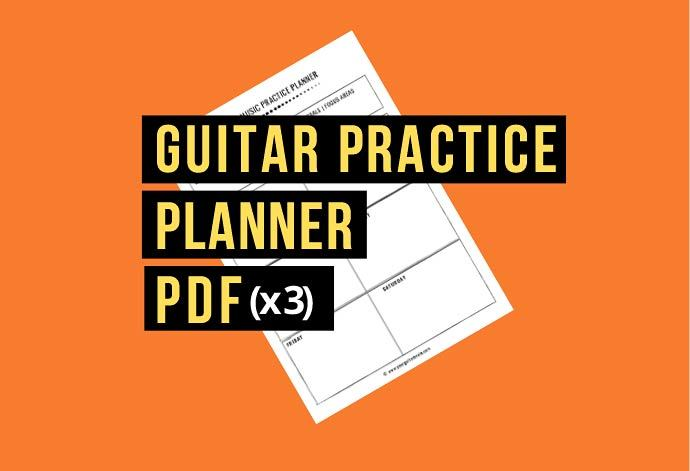 guitar practice routine pdf free beginners practice routine template printable planner