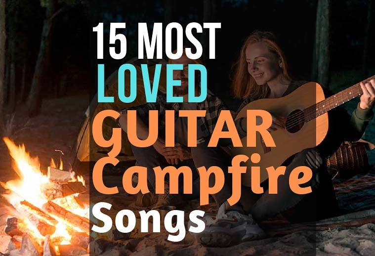 Best Campfire Guitar Songs Ideas Beginners Easy Chords No barre