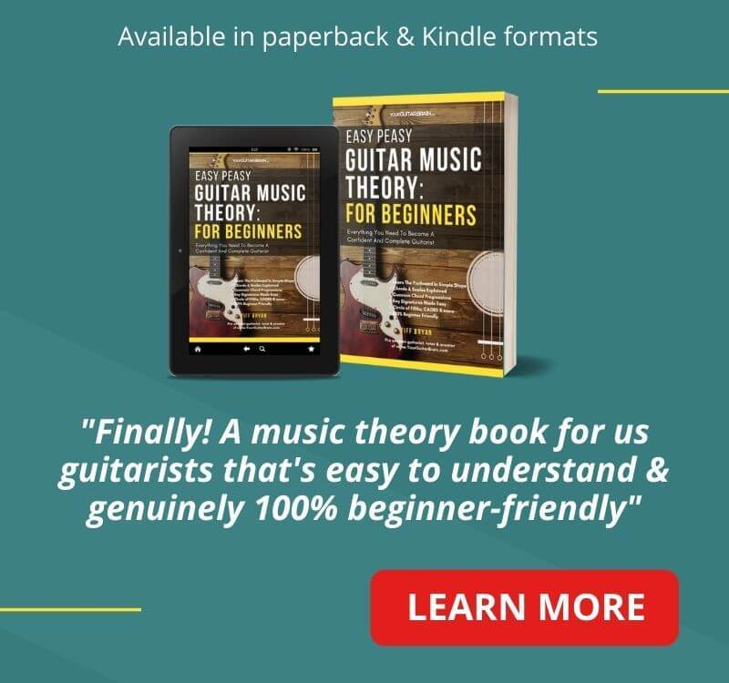 best guitar books for beginner guitar players easy music theory