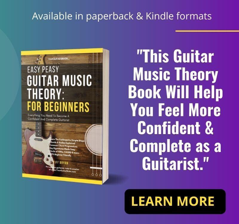 best beginner guitar book music theory guitar book