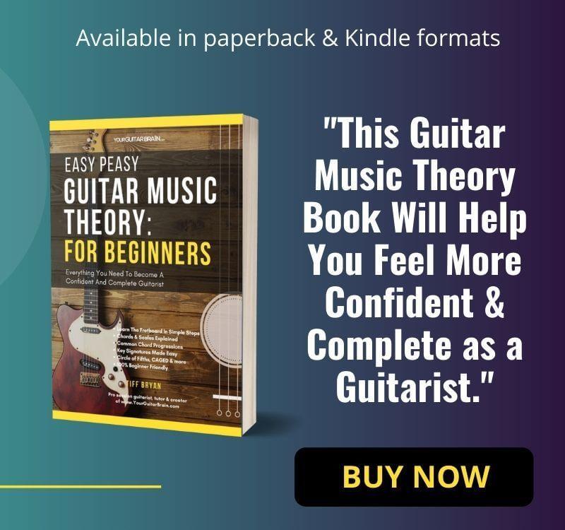 best beginner guitar music theory book for beginners easy peasy guitar music theory