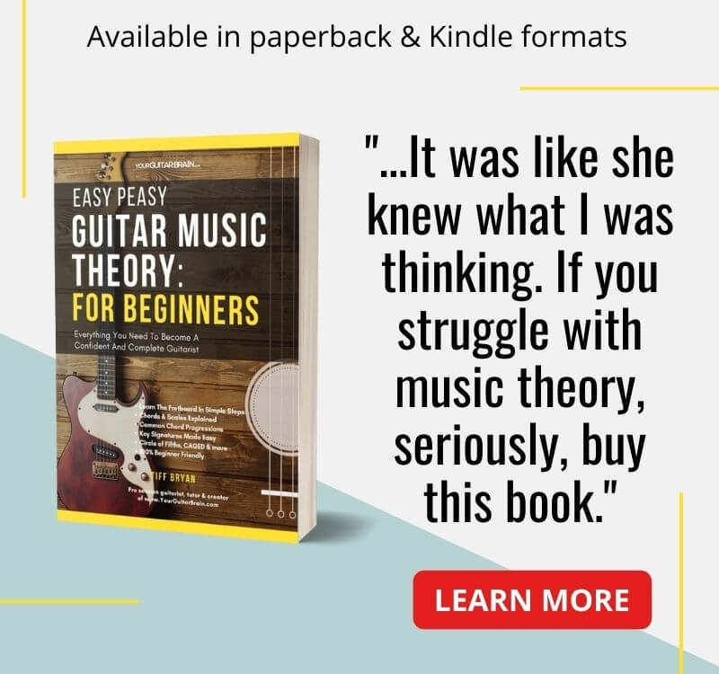 best guitar music theory book for beginners learn theory