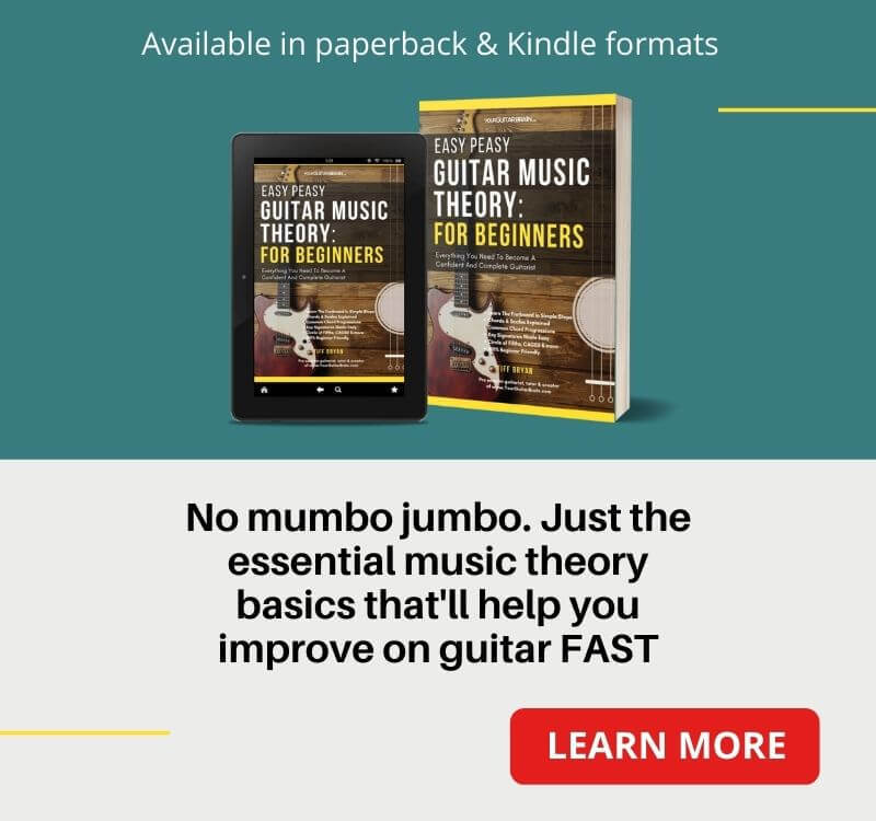 best guitar music theory book for beginners easy peasy guitar