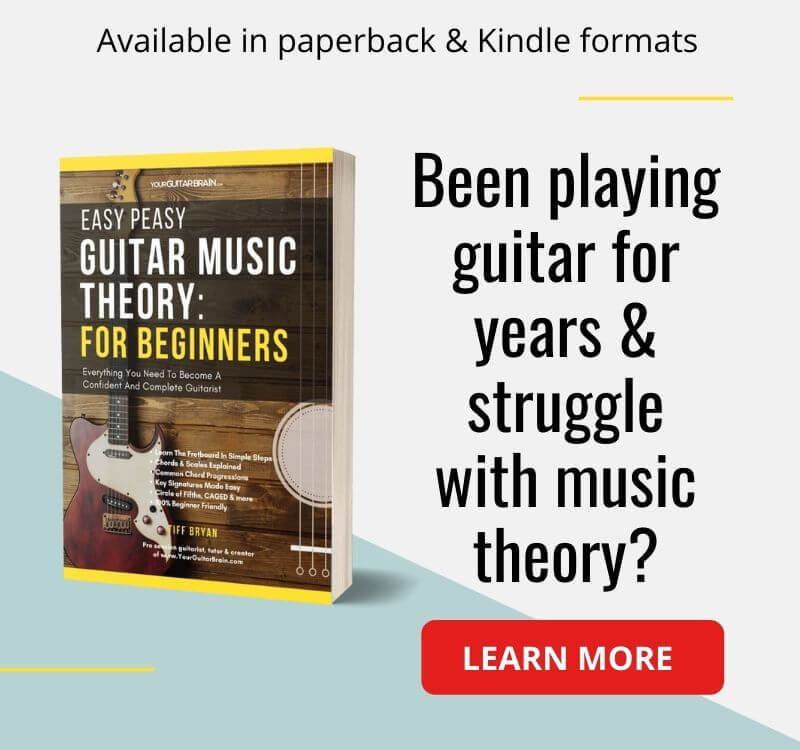 best guitar book music theory for beginner guitar players