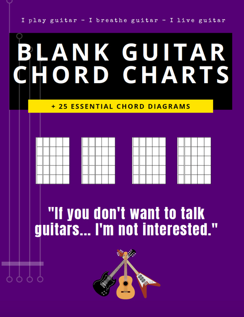 blank guitar chord charts boxes free pdf blue electric acoustic purple