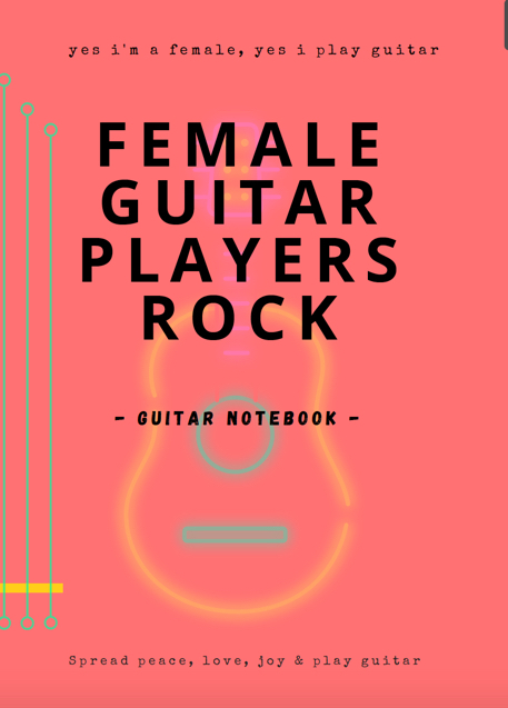 notebooks guitar blank tab paper chord charts guitarist gifts funny unique gifts girls women mum wife rock chick female