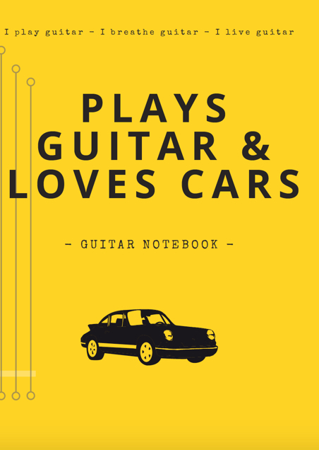 notebooks guitar blank tab paper chord charts guitarist gifts funny unique gifts dad grandad cars