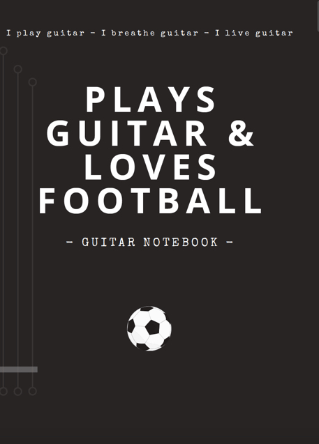 notebooks guitar blank tab paper chord charts guitarist gifts funny unique gifts dad grandad football