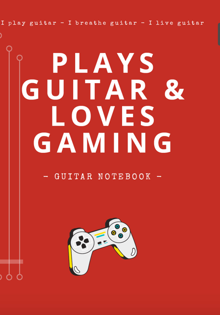 notebooks guitar blank tab paper chord charts guitarist gifts funny unique gifts dad son teen gaming