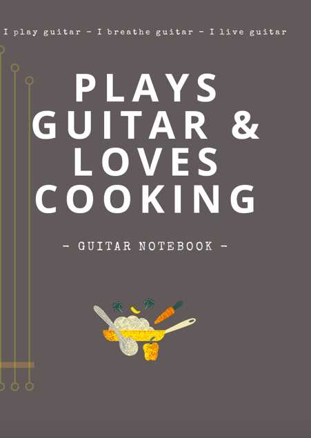 notebooks guitar blank tab paper chord charts guitarist gifts funny unique gifts mum wife cooking baking